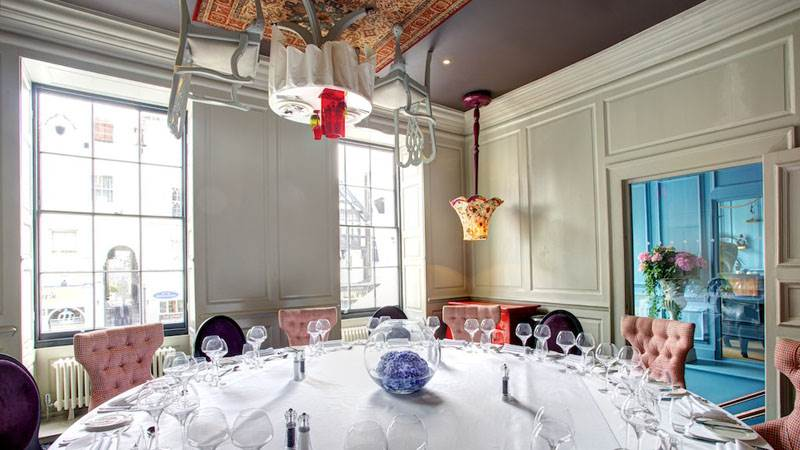 Private Dining from £27.50 per person