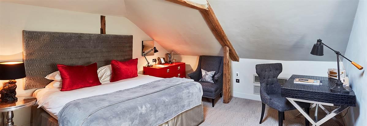 Room 4 Attic bedroom Oddfellows Chester