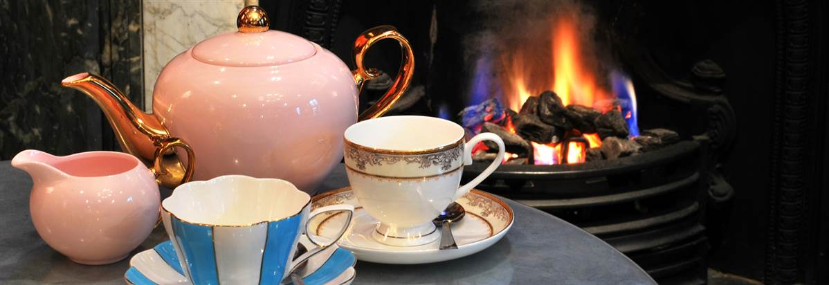 Tea by the fire